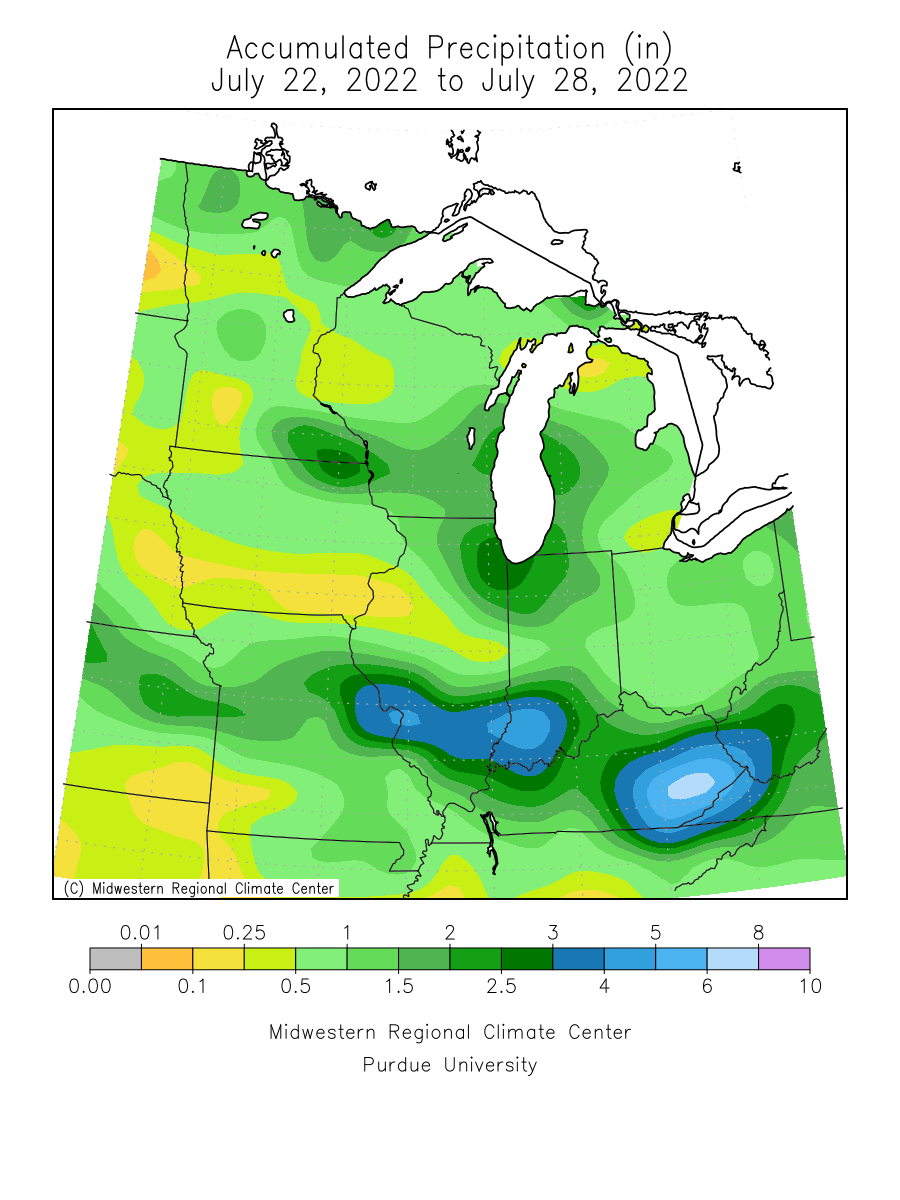 MRCC Midwest Climate Watch - Maps and Images