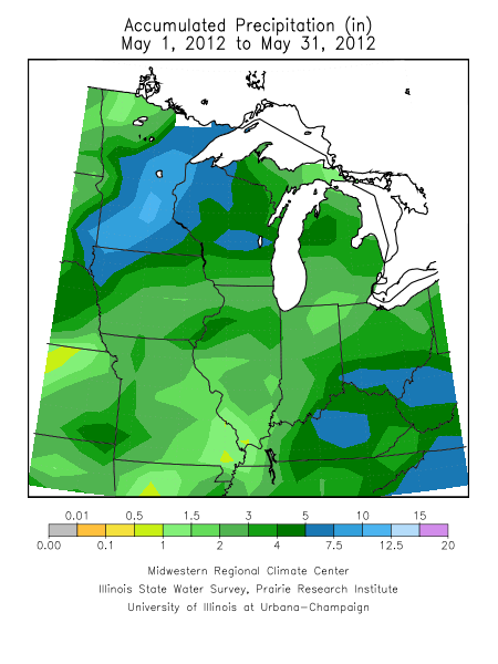 May 2012 Precipitation