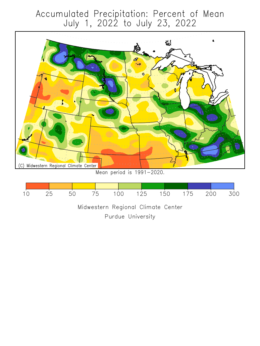 1 Month Precip Anomaly