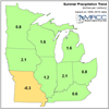 Summer Precip Trends