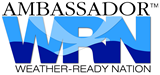 Weather-Ready Nation Ambassador Logo
