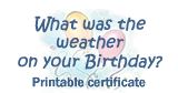 Weather on Your Birthday tool quicklink