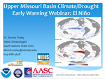 El Niño webinar for Missouri River Basin